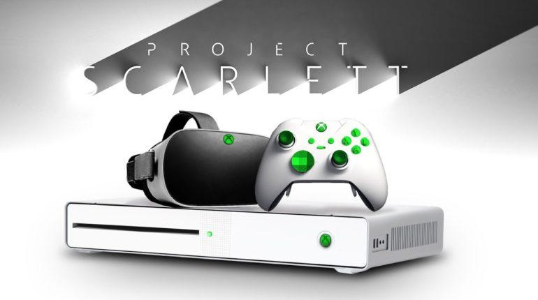 Xbox Scarlett Project Scarlett