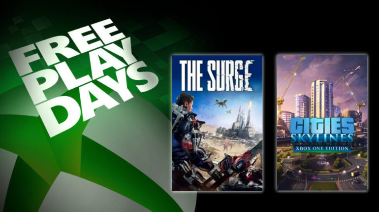 Free Play Days: The Surge и Cities: Skyline [с 7 по 11 ноября]