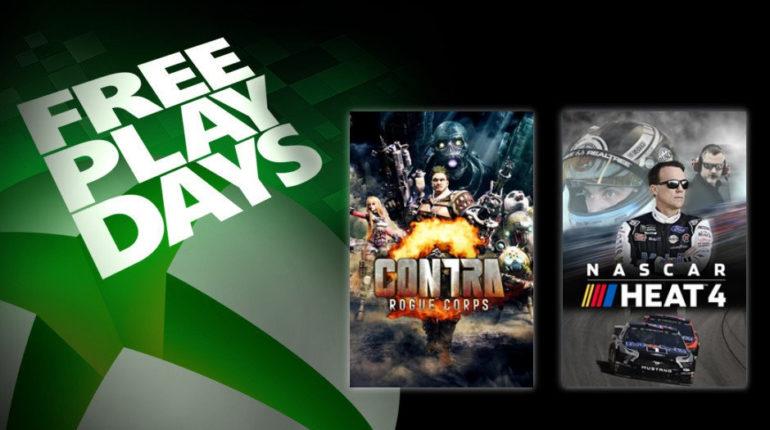 Contra: Rogue Corps и Nascar Heat 4 будут доступны бесплатно с 14 по 18 ноября для подписчиков Xbox Live Gold