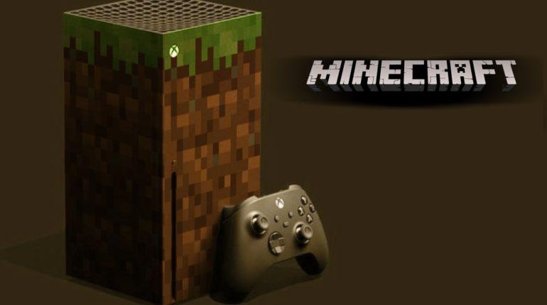 Xbox Series X Minecraft
