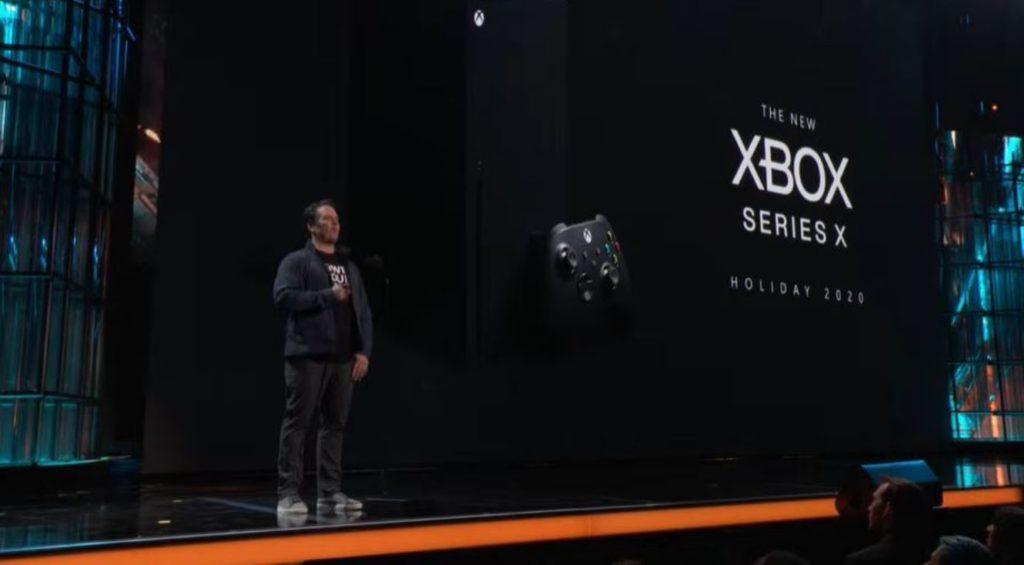 Фил Спенсер и Xbox Series X