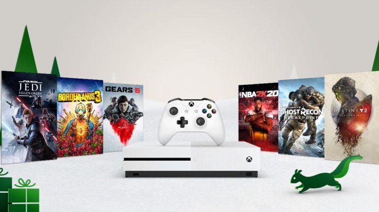 Новогодняя распродажа Xbox 2019