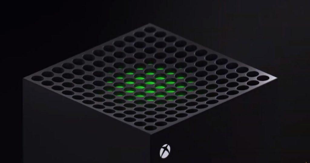 Xbox Series X подсветка отверстий под охлаждение