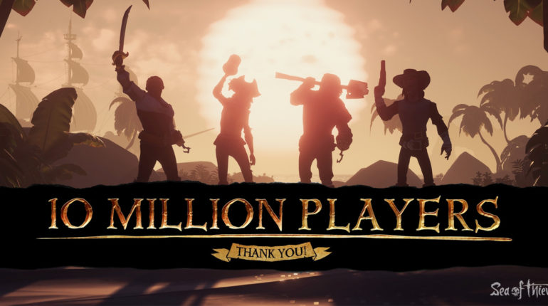 10 MillionPlayers sea of thieves