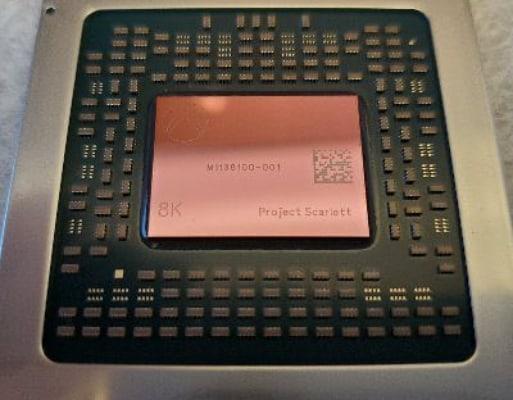 Первое реальное фото процессора Xbox Series X
