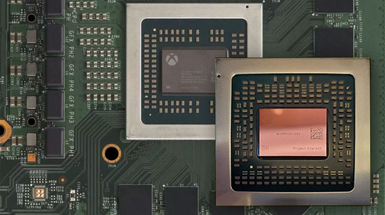 Xbox Series X Анализ чипа Xbox Series X от Digital Foundry