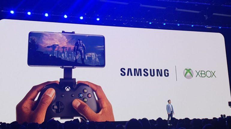 Samsung объявила о партнерстве с Xbox