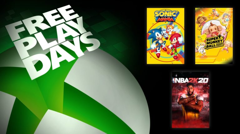 XBL Free Play Days