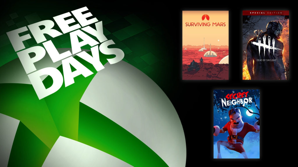 Free Play Days [6 — 10 февраля 2020]