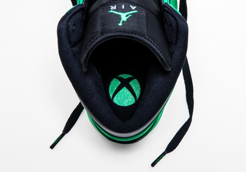Xbox Green and Black Air Jordan логотип Xbox
