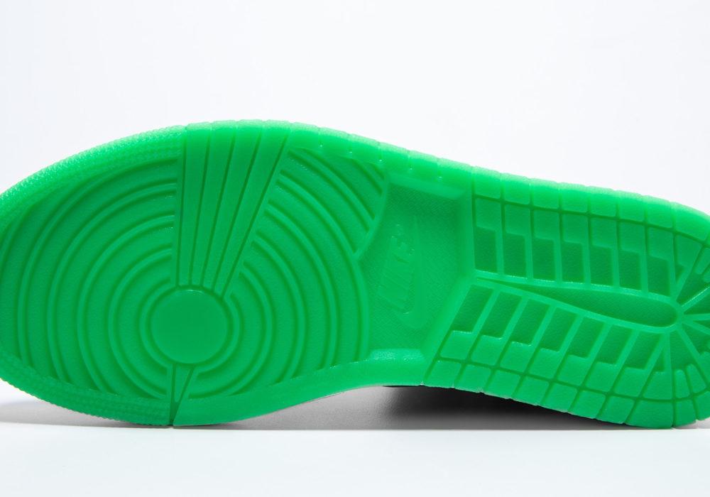 Xbox Green and Black Air Jordan зеленая подошва