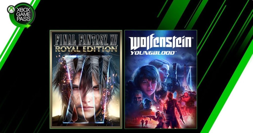 Final Fantasy XV и Wolfenstein: Youngblood уже в Xbox Game Pass