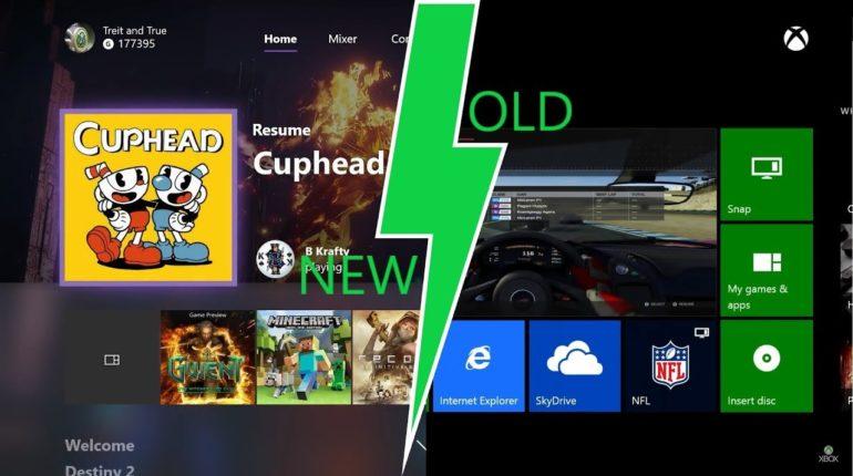dashboard Xbox One Home