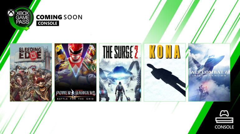 Xbox Game Pass Март 2020/2