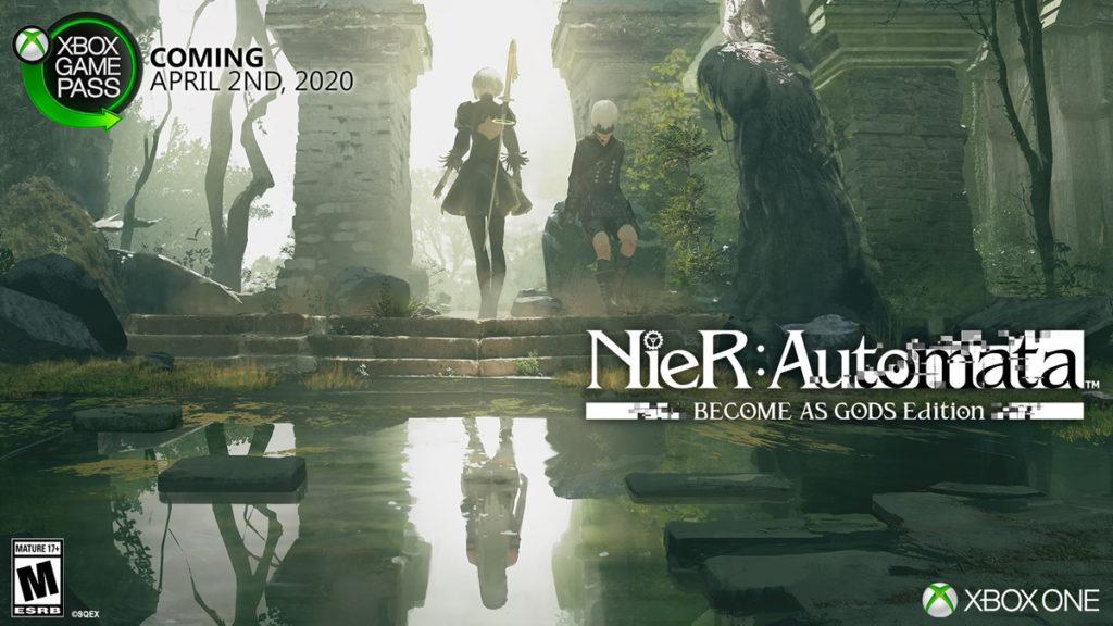 NieR Automata добавят в Xbox Game Pass
