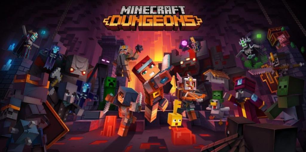 Minecraft Dungeons доступна подписчикам Xbox Game Pass