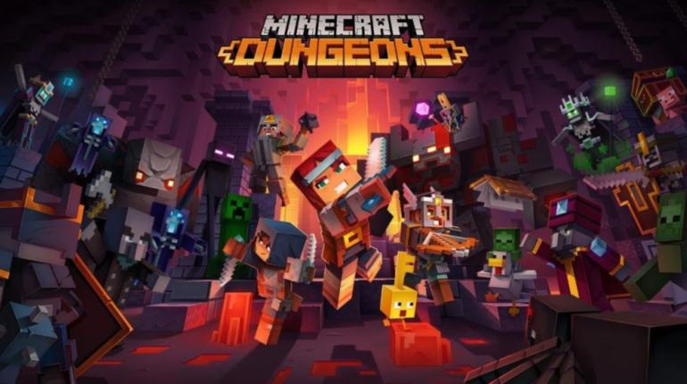 Minecraft Dungeons выйдет 26 мая 2020 года