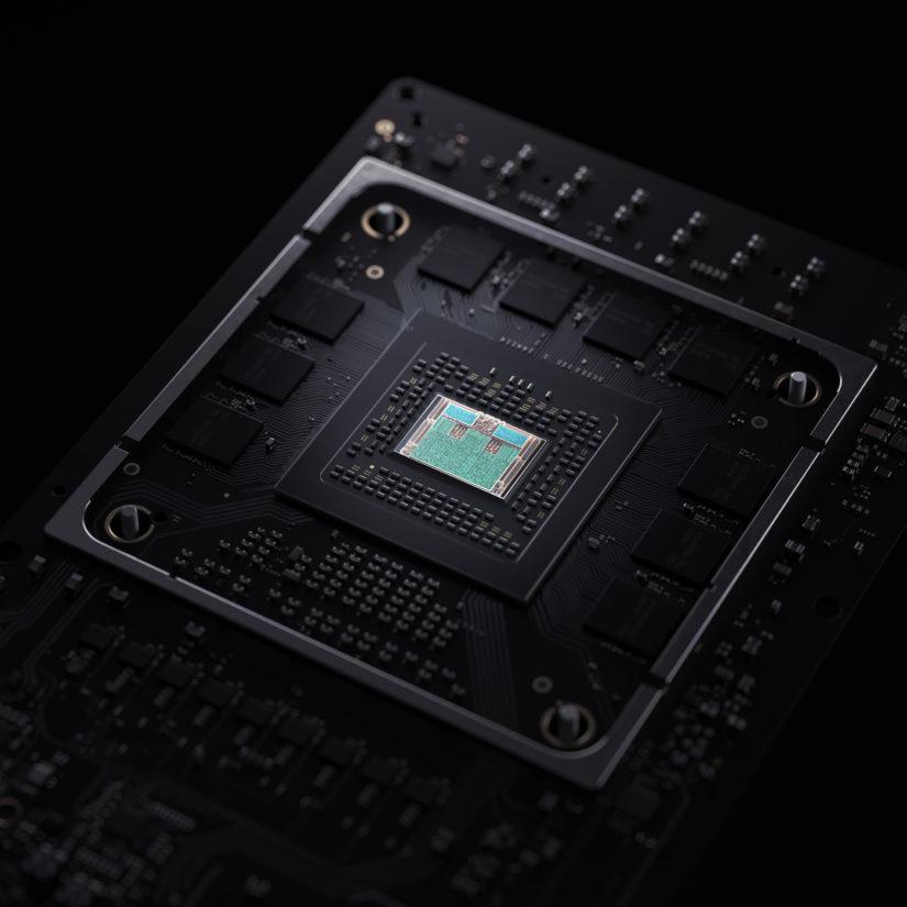 XboxSeriesX SoC Closeup