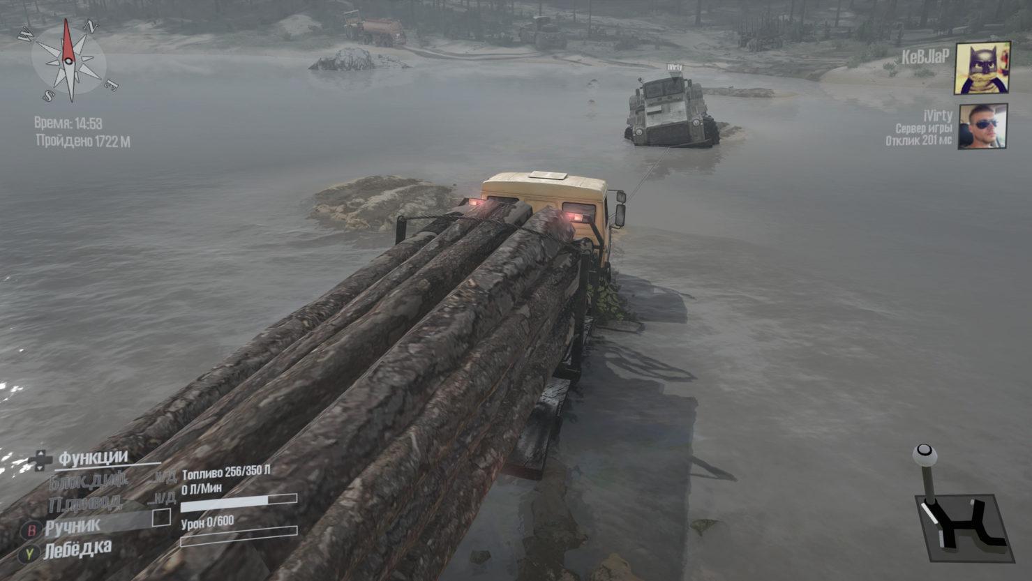 Брод реки MudRunner6