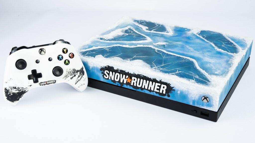 Xbox One X SnowRunner