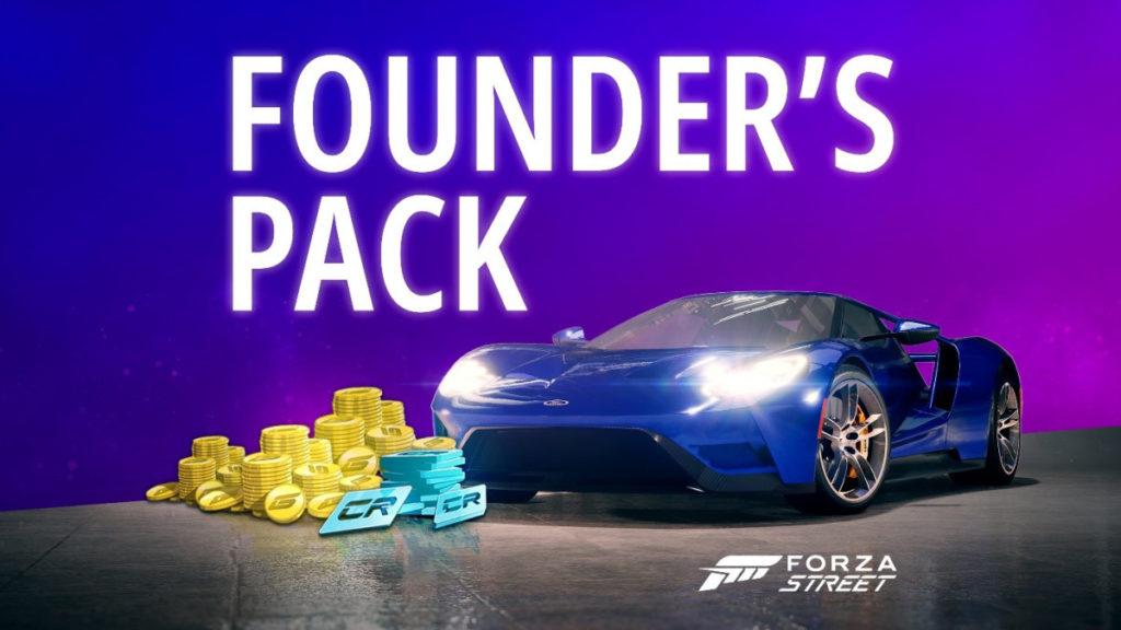 Forza Street пакет основателя