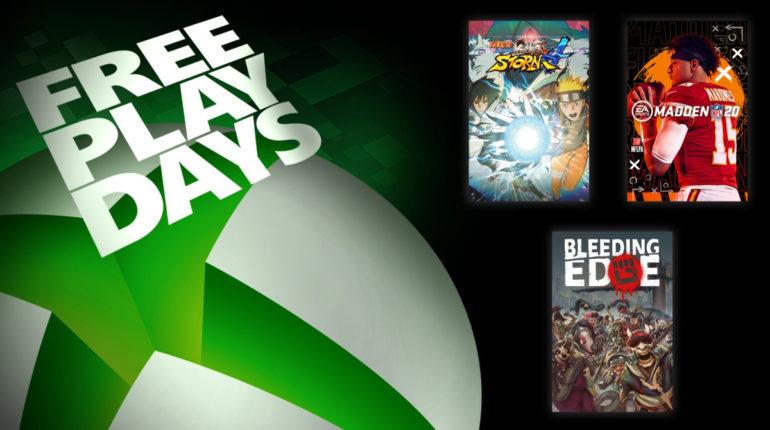 Free Play Days: Bleeding Edge, Madden NFL 20 и Naruto Shippuden: Ultimate Ninja Storm 4 [с 23 по 26 апреля 2020 года]