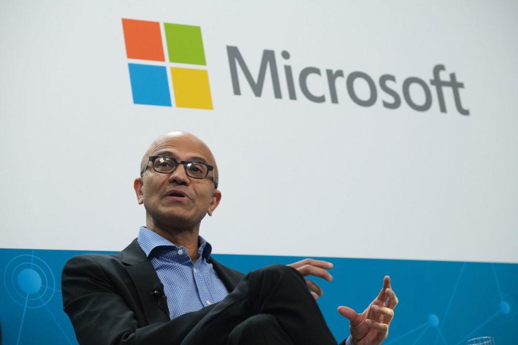 Генеральный директор Microsoft Сатья Наделла