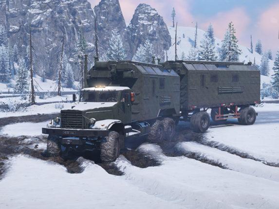 Kraz 255 for SnowRunner