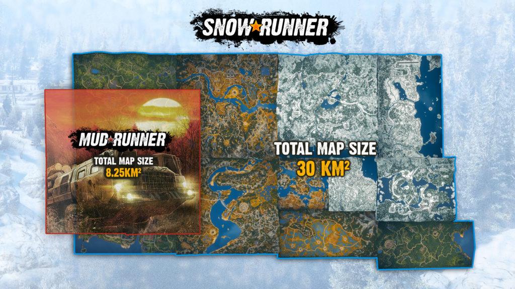 MudRunner-v-SnowRunner-Map-Comparison