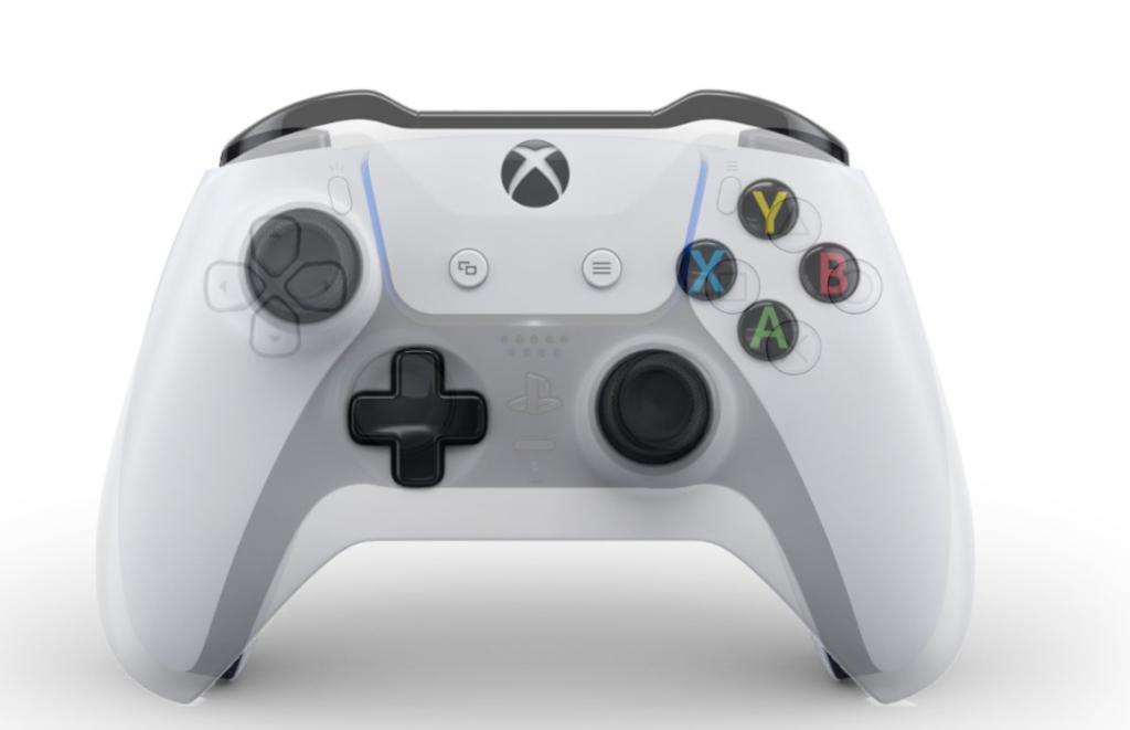 Сравнение DualSense  с контроллером Xbox One