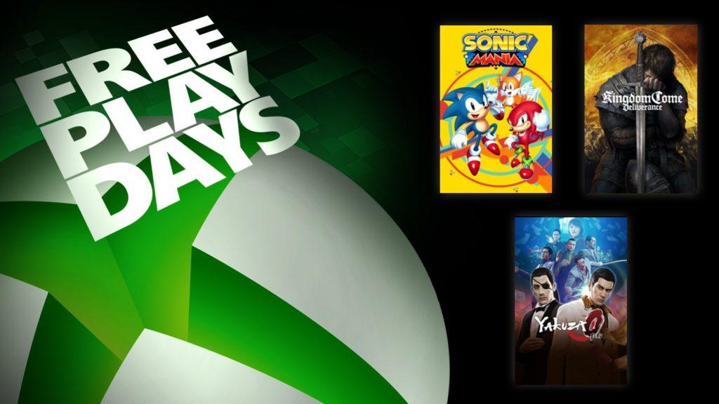 Free Play Days [30 апреля — 4 мая 2020]