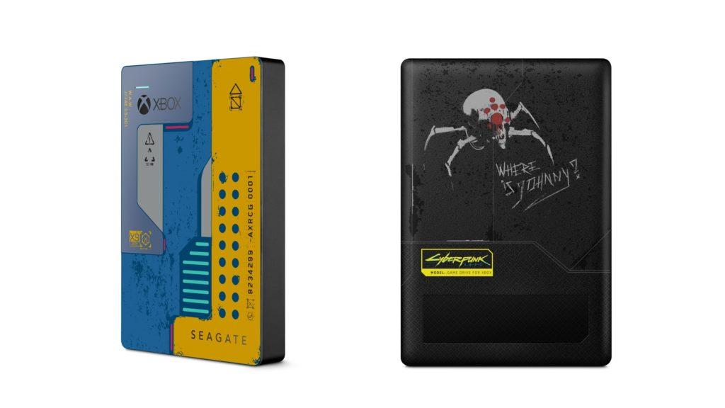 XboxWire SeagateDrive Cyberpunk 2077 Limited Edition