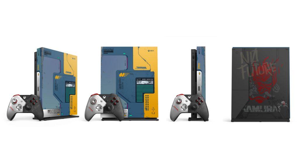 XboxWire Xbox One X Cyberpunk 2077 Limited Edition