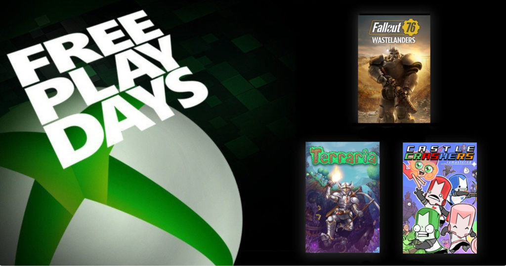 Free Play Days [14 — 18 мая 2020]