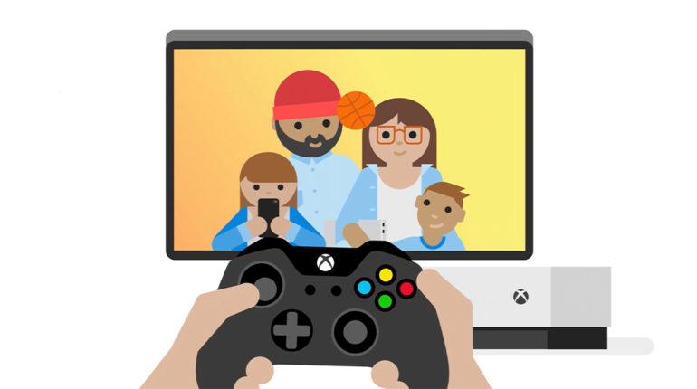 Безопасные игры для всех на Xbox One родительский контроль
