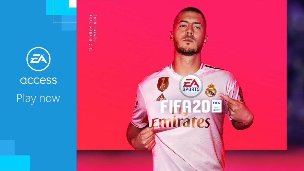 FIFA 20 добавлена в EA Access
