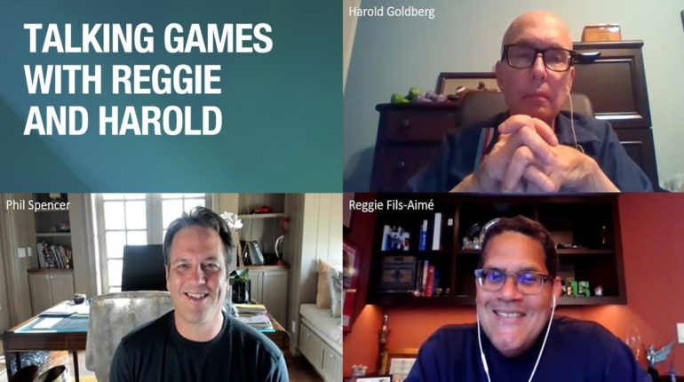 Talking Games With Reggie And Harold!
