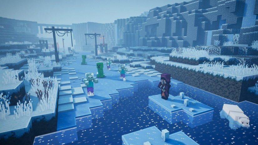 Minecraft Dungeons скриншот DLC