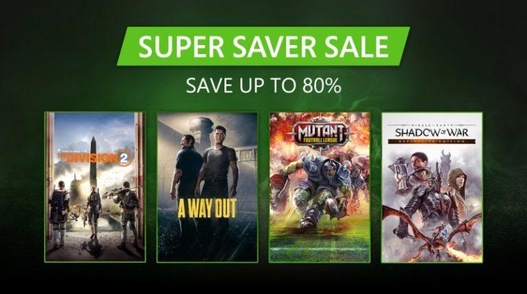 Super Saver Sale распродажа в Xbox Store