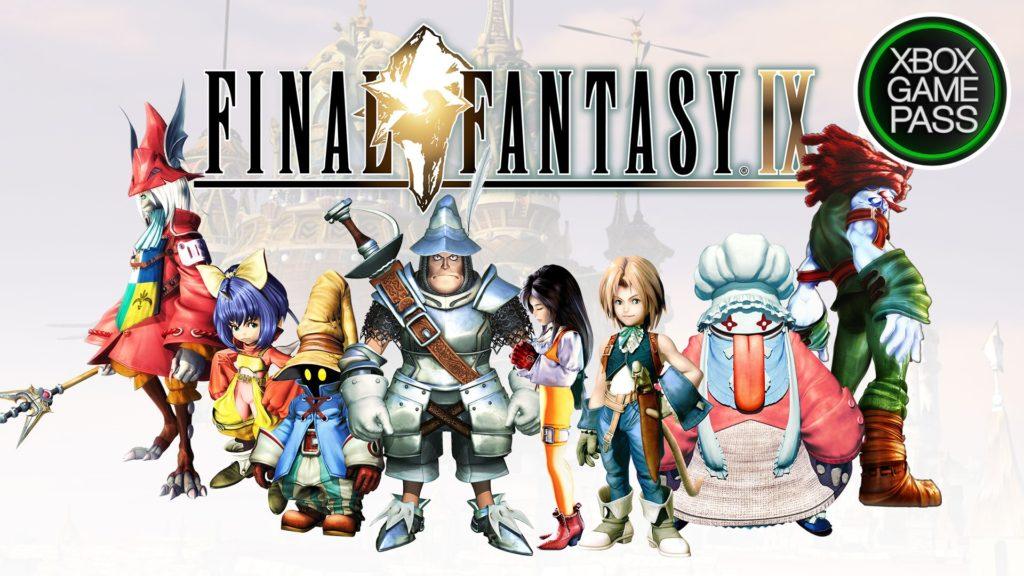 Final Fantasy IX в Xbox Game Pass