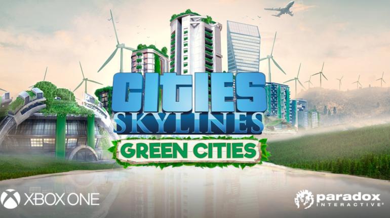 Cities: Skylines - DLC Green Cities можно бесплатно скачать на Xbox One