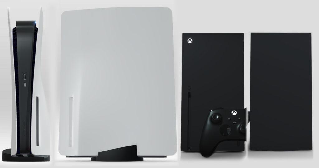 Дизайн PS5 VS дизайна Xbox Series X