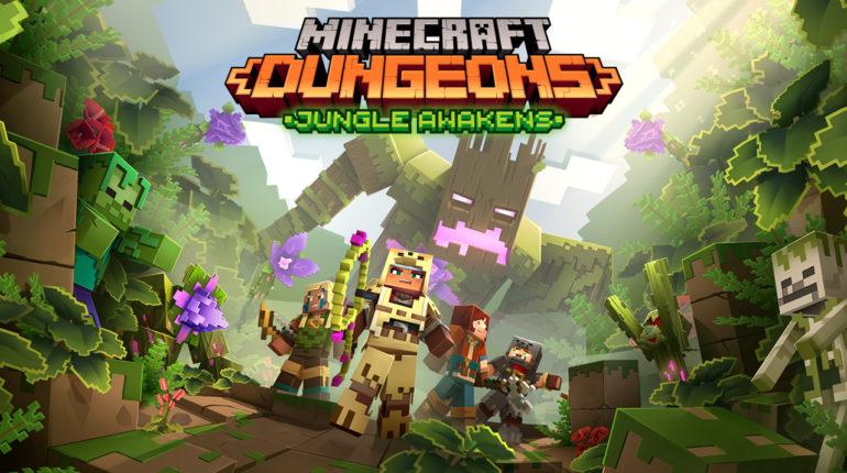 Дополнение Jungle Awakens для Minecraft Dungeons официально подтверждено