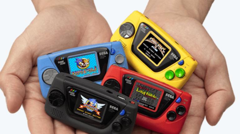 SEGA анонсировала портативную консоль Game Gear Micro