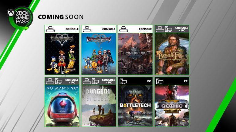 Xbox Game Pass июнь 2020