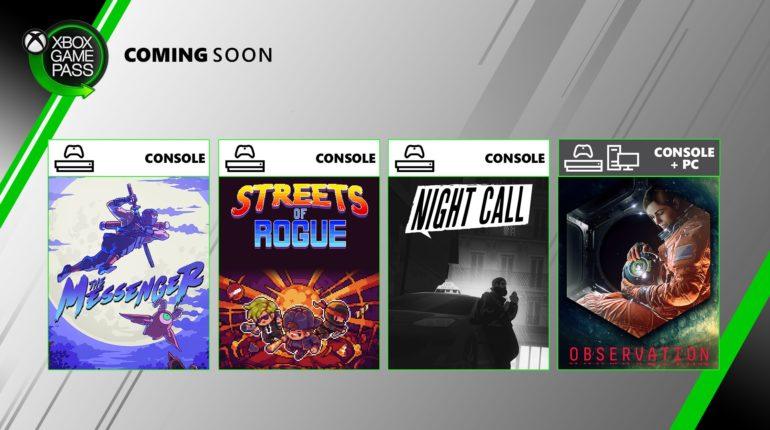 Xbox Game Pass июнь 2020 вторая подборка игр