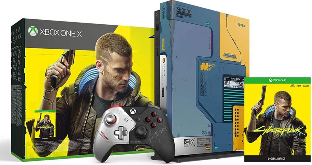 Xbox One X Cyberpunk 2077 Limited Edition Bundle поступил в продажу
