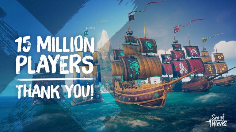 В Sea of Thieves сыграло более 15 миллионов игроков