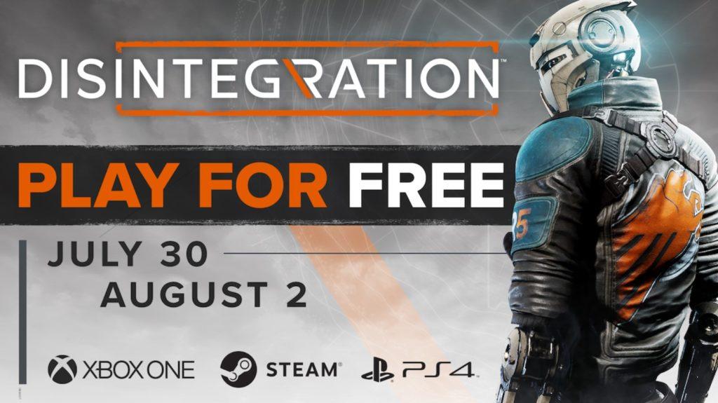 Бесплатные выходные Disintegration [Июль 2020]
