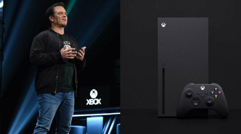 Фил Спенсер (Phil Spencer) Xbox Series X